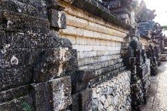 Ancient Wall in Uluwatu Temple, Bali, Indonesia Royalty Free Stock Photo