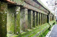 Ancient Wall in Uluwatu Temple, Bali, Indonesia Royalty Free Stock Image