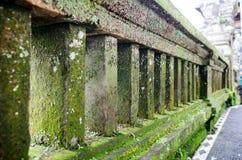 Ancient Wall in Uluwatu Temple, Bali, Indonesia Royalty Free Stock Image