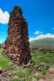 Ancient wall in Urubamba Valley Stock Photography