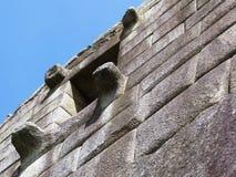 Ancient wall window at Machu Picchu Royalty Free Stock Photos
