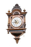 Ancient wall wooden hours, clock Stock Images