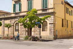 Ancient Walled City of Lucca Royalty Free Stock Photo