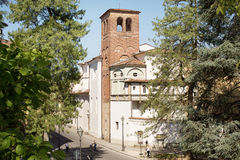 Ancient Walled City of Lucca Royalty Free Stock Images