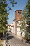 Ancient Walled City of Lucca Royalty Free Stock Photos