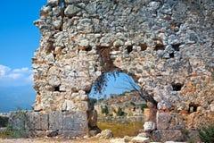 Ancient walls royalty free stock image