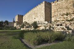 Ancient walls. Stock Image
