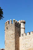 The ancient walls of the city of toledo, spain Stock Images