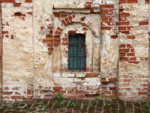 The ancient walls of the Cyril-Belozersky Monastery, Kirillov, Russia Royalty Free Stock Images