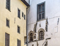 Ancient walls in Florence Stock Image