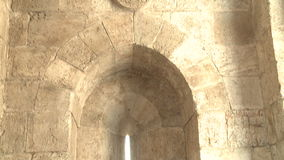 Ancient walls of Jerusalem stock video footage