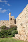 The ancient walls of the Jerusalem Royalty Free Stock Photography