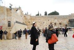 The ancient walls of Jerusalem views Stock Photos