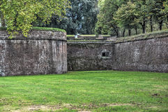 Ancient walls Stock Images
