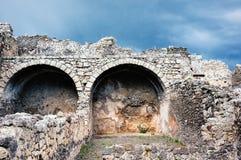 Ancient walls Royalty Free Stock Photo