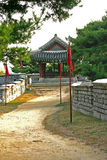 The ancient walls of Suwon city,South Korea Stock Image