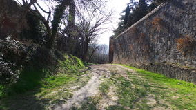 Ancient Walls of Verona Royalty Free Stock Photos