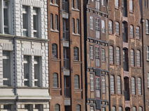 Ancient warehouses - Hamburg Royalty Free Stock Photos