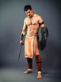 Ancient warrior Royalty Free Stock Photography