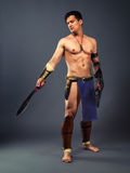 Ancient warrior Stock Photography