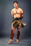 Ancient warrior. Stock Photos
