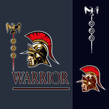 Ancient warrior Royalty Free Stock Photo