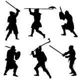Ancient warriors Royalty Free Stock Image