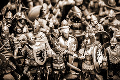 Ancient warriors Stock Photography