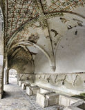 Ancient washhouse. In San Severino Marche, Italy Stock Images
