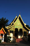Ancient wat in Chiang Mai, Thailand Stock Image