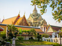 Ancient Wat Pho Temple, Bangkok, Thailand Stock Images