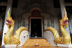 Ancient wat ruins in Thailand Royalty Free Stock Images