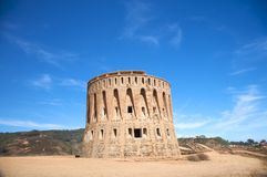 Ancient watchtower Royalty Free Stock Photos