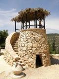 Ancient watchtower near Jerusalem stock photos