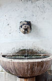 Ancient water fountain Royalty Free Stock Image