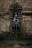 Ancient water Tap. Its Ancient water tap which i shot in bhaktapur nepal Royalty Free Stock Images
