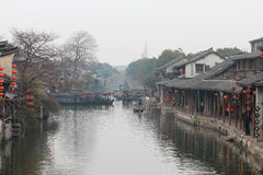 The ancient water town in china Stock Images