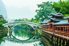 Ancient Water Towns of China Royalty Free Stock Photo