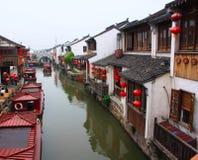 Ancient Water Towns-shantang Suzhou Royalty Free Stock Image