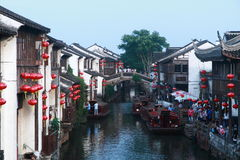 Ancient water towns-shantang suzhou Stock Photography