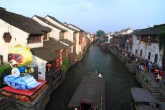 Ancient water towns-shantang suzhou Stock Images