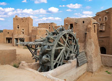 Ancient Water Wheel stock photography