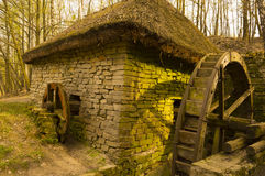 Ancient Watermill Stock Images