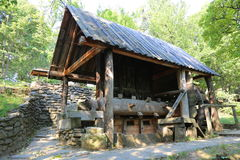 Ancient watermill Royalty Free Stock Image
