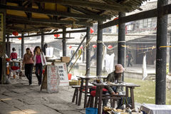 Ancient Watertown of Shaoxing Royalty Free Stock Image