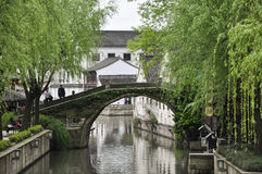 Ancient Watertown of Shaoxing Royalty Free Stock Photos