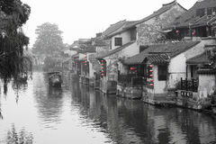 Ancient watery town. In the morning. Xitang. Zhejiang. China royalty free stock photography