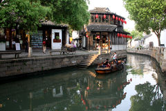 Ancient watery town. In the morning. Tongli. Suzhou. China royalty free stock photos