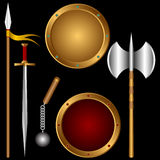 Ancient weapons. Royalty Free Stock Images