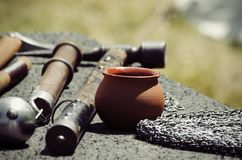 Ancient Weapons Stock Images
